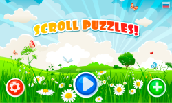 Scroll Puzzles Lite - game for kids screenshot 1/6