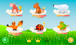 Scroll Puzzles Lite - game for kids screenshot 2/6