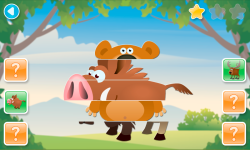 Scroll Puzzles Lite - game for kids screenshot 3/6