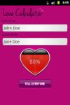 Love Calculator Simple Free screenshot 1/4