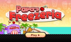 Papas Freezeria screenshot 1/6