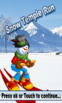 Snow Temple Run screenshot 1/3