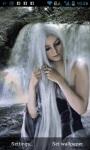 Girl in Waterfalls Live Wallpaper screenshot 1/3