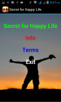 Secret for Happy Life screenshot 2/3