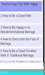 Marriage Review and Tips screenshot 1/1