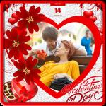 Valentine Photos Frames screenshot 1/6