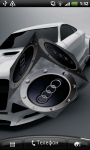 Audi Logo 3D Live Wallpaper screenshot 4/6