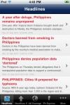 News Philippines screenshot 1/1