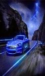 Running Car live Wallpaper screenshot 1/3