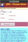 BMI - Fitness Meter screenshot 2/3