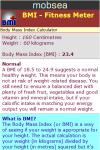 BMI - Fitness Meter screenshot 3/3