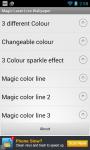 Magic Laser Live Wallpaper screenshot 5/6