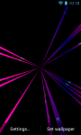 Magic Laser Live Wallpaper screenshot 2/6
