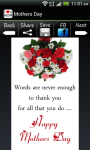 Mothers day SMS Mothers Day Cards screenshot 4/6