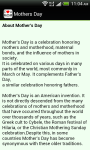 Mothers day SMS Mothers Day Cards screenshot 5/6