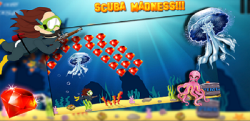 Scuba Madness UnderWater Game screenshot 1/6