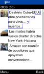 OCB Martí Noticias for Java Phones screenshot 1/6