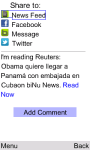 OCB Martí Noticias for Java Phones screenshot 5/6