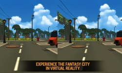 Fantasy City Tours VR - Toon screenshot 1/5
