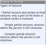 Epilepsy: An Overview screenshot 2/2
