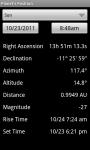 Planets Positions screenshot 2/6