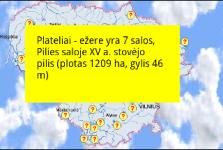 Biggest lakes of Lithuania screenshot 2/2