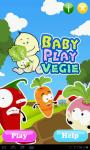 Baby Play Vegetables screenshot 2/4