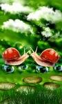 Snails Drops Live Wallpaper screenshot 1/3