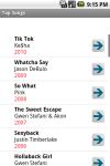 Top Songs of Recent Years screenshot 1/4