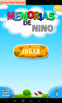 kids memory food-spanish screenshot 1/5