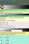 Commonwealth Games Duration Quiz screenshot 2/3