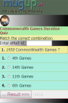 Commonwealth Games Duration Quiz screenshot 3/3