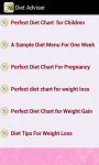 Diet Adviser screenshot 2/3
