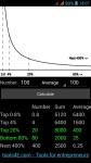 80/20 Calculator screenshot 1/1