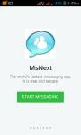 MsNext screenshot 1/6