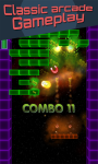 Brick Breaker 3D Glow Arkanoid Breakout screenshot 2/6