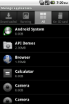 QSC Manage Applications screenshot 3/3