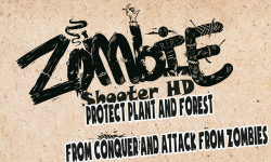 Zombie Shooter HD - Protect Plant and Forest New screenshot 1/6