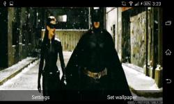 Batman and Catwomen Live Wallpaper screenshot 1/6