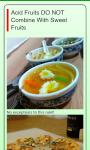 Food Combining Rules screenshot 3/4