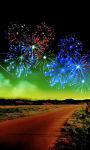 Colorful fireworks Wallpaper HD screenshot 1/3