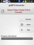 goMP3 Converter screenshot 2/3