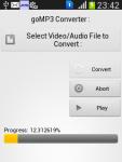 goMP3 Converter screenshot 3/3