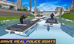 Police Boat Chase 2016 screenshot 1/4