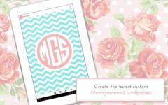 Monogram It Custom Wallpapers emergent screenshot 3/6