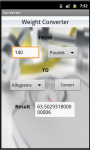 Unit Converter for Android screenshot 5/6