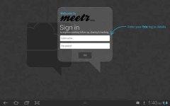 Meetr screenshot 1/3
