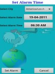 World Alarm Lite screenshot 3/6