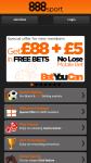 888 Betting screenshot 1/2
