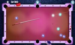 Girls Lunar Pool screenshot 3/4